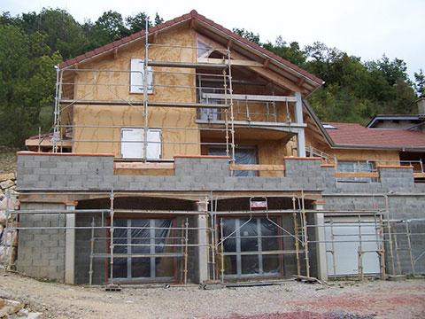 Construction 1 : étape 1
