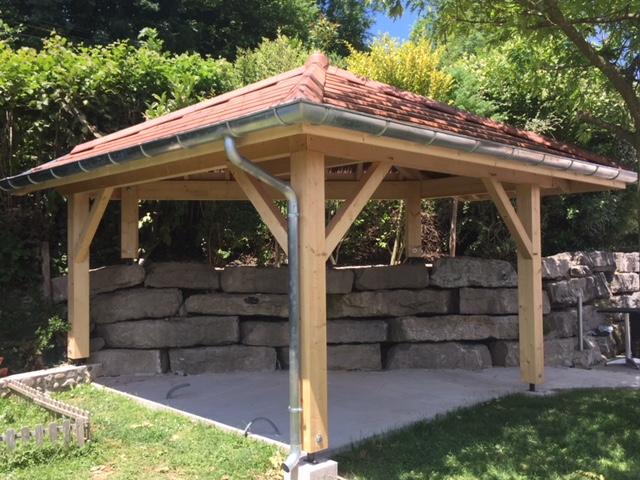 Pool House pour barbecue extérieur